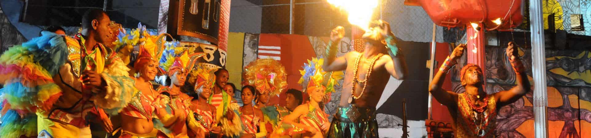 Fiesta del Fuego at Santiago de Cuba City